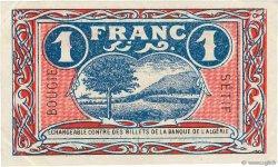 1 Franc FRANCE régionalisme et divers BOUGIE, SETIF 1918 JP.139.06 SUP+