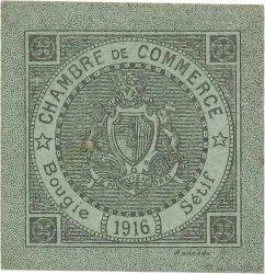 5 Centimes FRANCE régionalisme et divers Bougie, Sétif 1916 JP.139.09 SUP+