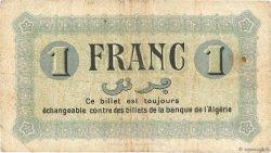 1 Franc FRANCE régionalisme et divers CONSTANTINE 1915 JP.140.02 TB
