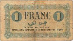 1 Franc FRANCE régionalisme et divers CONSTANTINE 1915 JP.140.04 pr.TB