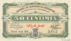 50 Centimes FRANCE régionalisme et divers Constantine 1916 JP.140.08 SUP+