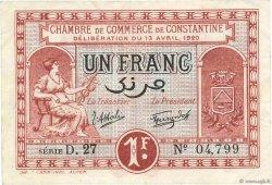 1 Franc FRANCE régionalisme et divers Constantine 1920 JP.140.24 pr.TTB