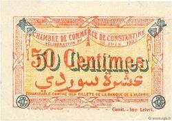 50 Centimes FRANCE régionalisme et divers CONSTANTINE 1921 JP.140.27 TTB+