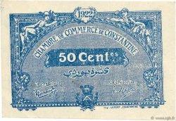 50 Centimes FRANCE régionalisme et divers Constantine 1921 JP.140.33 SUP
