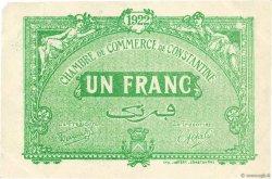 1 Franc FRANCE régionalisme et divers Constantine 1921 JP.140.34 TTB