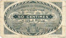 50 Centimes FRANCE régionalisme et divers Constantine 1922 JP.140.38 B