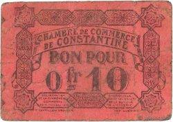 10 Centimes FRANCE régionalisme et divers CONSTANTINE 1915 JP.140.49 TB