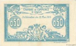 50 Centimes FRANCE régionalisme et divers Oran 1915 JP.141.01 TTB+
