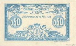 50 Centimes FRANCE régionalisme et divers Oran 1915 JP.141.01 pr.NEUF