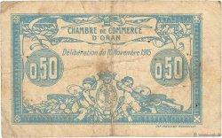 50 Centimes FRANCE régionalisme et divers ORAN 1915 JP.141.04 B