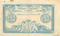 50 Centimes FRANCE régionalisme et divers ORAN 1915 JP.141.04 TB