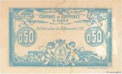 50 Centimes FRANCE régionalisme et divers ORAN 1915 JP.141.04 TTB