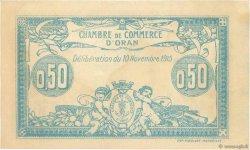 50 Centimes FRANCE régionalisme et divers Oran 1915 JP.141.04 SPL+