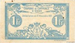 1 Franc FRANCE régionalisme et divers Oran 1915 JP.141.08 TB+