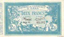 2 Francs FRANCE régionalisme et divers Oran 1915 JP.141.14 SUP+