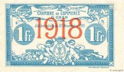 1 Franc FRANCE régionalisme et divers Oran 1915 JP.141.20 pr.SUP