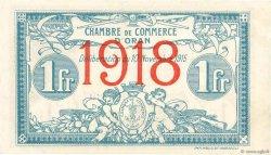 1 Franc FRANCE régionalisme et divers Oran 1915 JP.141.20 SUP