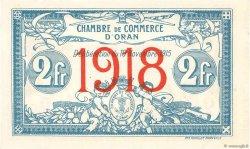 2 Francs FRANCE régionalisme et divers ORAN 1915 JP.141.21 SUP
