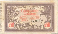 50 Centimes FRANCE régionalisme et divers Oran 1920 JP.141.22 TB