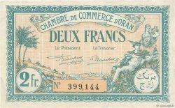 2 Francs FRANCE régionalisme et divers ORAN 1921 JP.141.29 TTB+