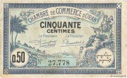 50 Centimes FRANCE régionalisme et divers ORAN 1923 JP.141.38 TB