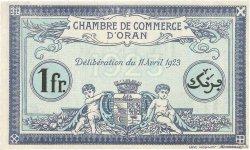1 Franc FRANCE régionalisme et divers ORAN 1923 JP.141.39 SUP+