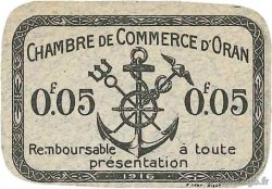 5 Centimes FRANCE régionalisme et divers ORAN 1916 JP.141.40 pr.NEUF