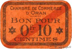 10 Centimes FRANCE régionalisme et divers ORAN 1916 JP.141.47 TTB