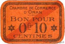 10 Centimes FRANCE régionalisme et divers ORAN 1916 JP.141.47 SUP