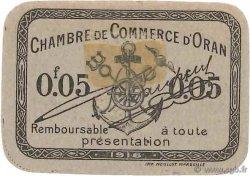 5 Centimes FRANCE régionalisme et divers Oran 1916 JP.141.48 SUP+