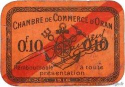 10 Centimes FRANCE régionalisme et divers ORAN 1916 JP.141.49 TB
