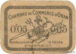 5 Centimes FRANCE régionalisme et divers ORAN 1916 JP.141.50 TB