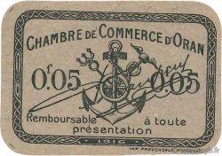 5 Centimes FRANCE régionalisme et divers ORAN 1916 JP.141.50 pr.NEUF
