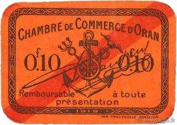 10 Centimes FRANCE régionalisme et divers ORAN 1919 JP.141.55 TTB