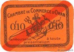 10 Centimes FRANCE régionalisme et divers ORAN 1916 JP.141.51 SUP