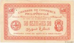 50 Centimes FRANCE régionalisme et divers PHILIPPEVILLE 1914 JP.142.03 SUP+