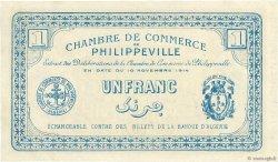 1 Franc FRANCE régionalisme et divers PHILIPPEVILLE 1914 JP.142.07 pr.SUP