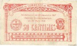 50 Centimes FRANCE régionalisme et divers Philippeville 1917 JP.142.08 TB+