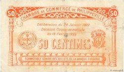 50 Centimes FRANCE régionalisme et divers PHILIPPEVILLE 1922 JP.142.10 TB