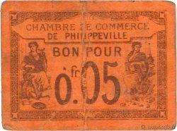 5 Centimes FRANCE régionalisme et divers PHILIPPEVILLE 1915 JP.142.12 B+