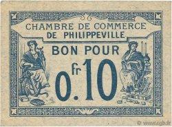 10 Centimes FRANCE régionalisme et divers PHILIPPEVILLE 1915 JP.142.13 pr.SPL