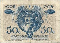 50 Centimes FRANCE régionalisme et divers BORDEAUX 1921 JP.030.28 pr.TB