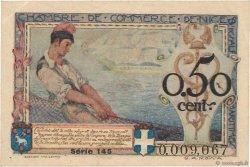 50 Centimes FRANCE régionalisme et divers NICE 1920 JP.091.09 SUP+