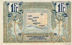 1 Franc FRANCE régionalisme et divers ALAIS, ARLES, AVIGNON, GAP, MARSEILLE, NÎMES, TOULON 1918 JP.102.12 SUP