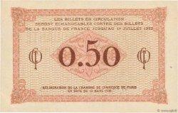 50 Centimes FRANCE régionalisme et divers Paris 1920 JP.097.10 SPL+