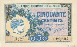 50 Centimes FRANCE régionalisme et divers PARIS 1920 JP.097.31 pr.NEUF