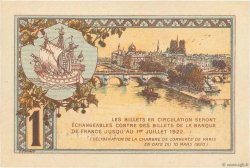 1 Franc FRANCE régionalisme et divers PARIS 1920 JP.097.36 SPL+