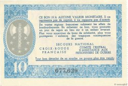 10 Francs BON DE SOLIDARITÉ FRANCE régionalisme et divers  1941 KL.07C pr.SPL