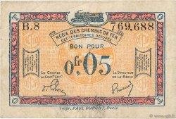 0,05 Franc FRANCE régionalisme et divers  1918 JP.135.01 TB