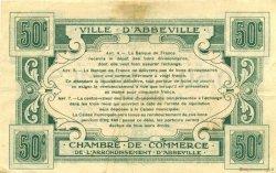 50 Centimes FRANCE régionalisme et divers ABBEVILLE 1920 JP.001.01 TTB à SUP